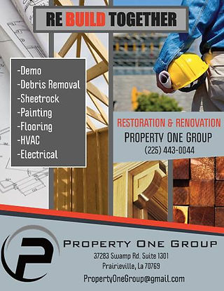Home Restoration in Baton Rouge Area