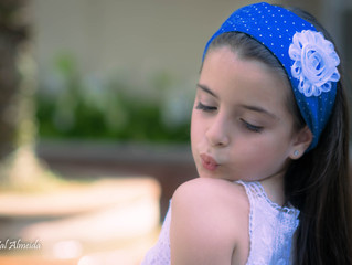 Ensaio da lindinha Milena - 7 aninhos