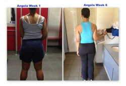 Angela's 6 Week Tansformation