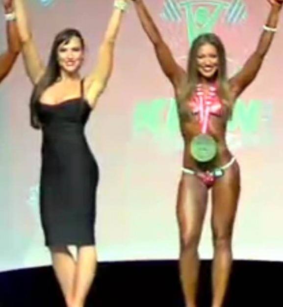 Bikini Model Competition prep