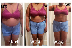 6 weeks Transformation Journey