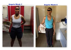 Angela's 6 weeks Transformation