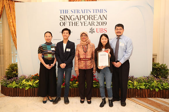The Straits Times' Singaporean of the Year 2019