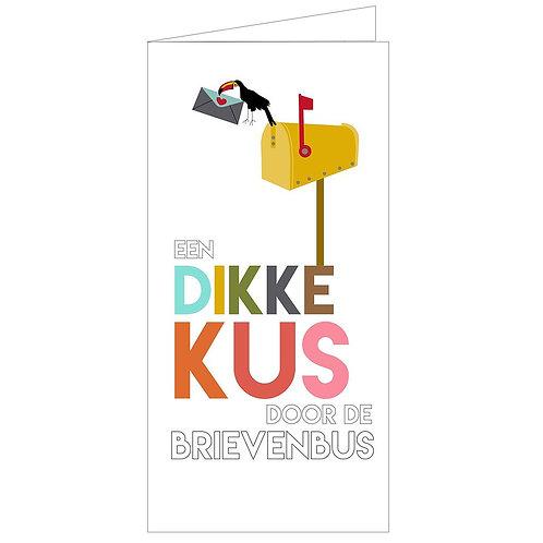 Een Dikke Kus Door De Brievenbus