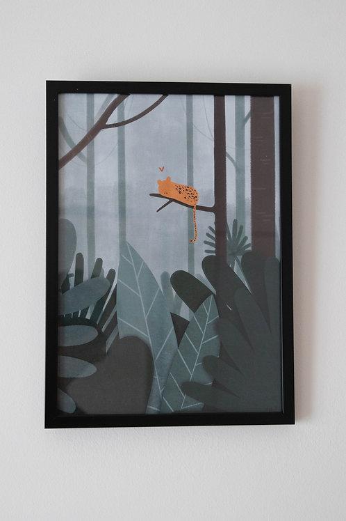 Jungle poster + kader