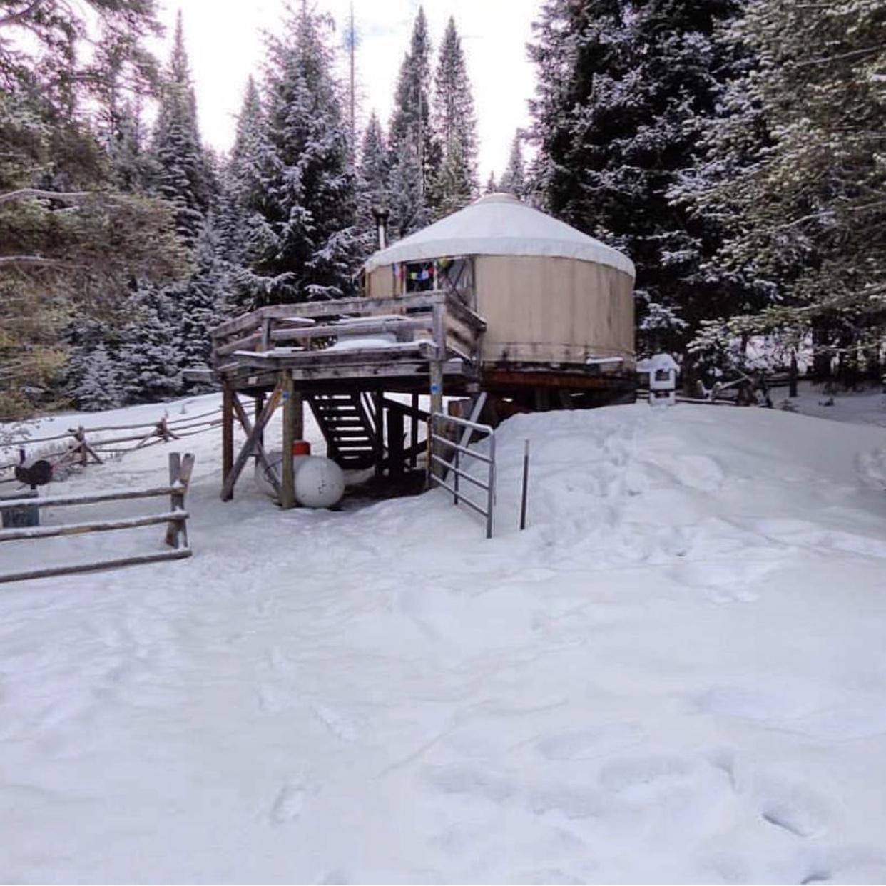Grass Creek Yurt
