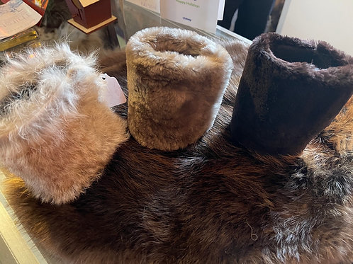 Fur koozies beaver, rabbit, -locally trapped