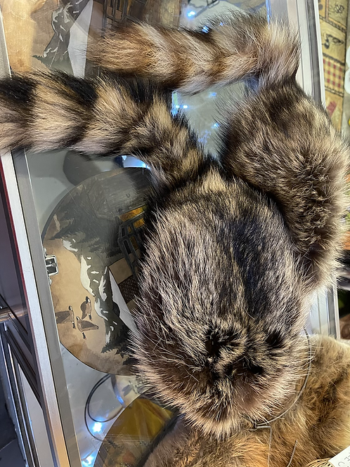 Raccoon Pelt Hats -locally trapped