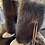 Thumbnail: Fur Beaver boot gaiters (pair) -locally trapped