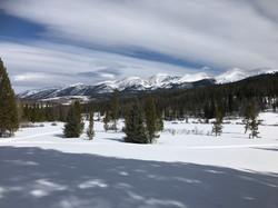 View from Grass Creek Yurt