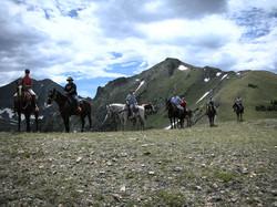 Horsebacking via Red Feather