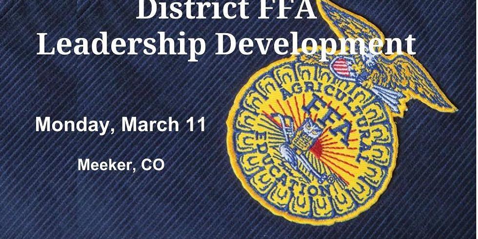 District FFA Leadership Development