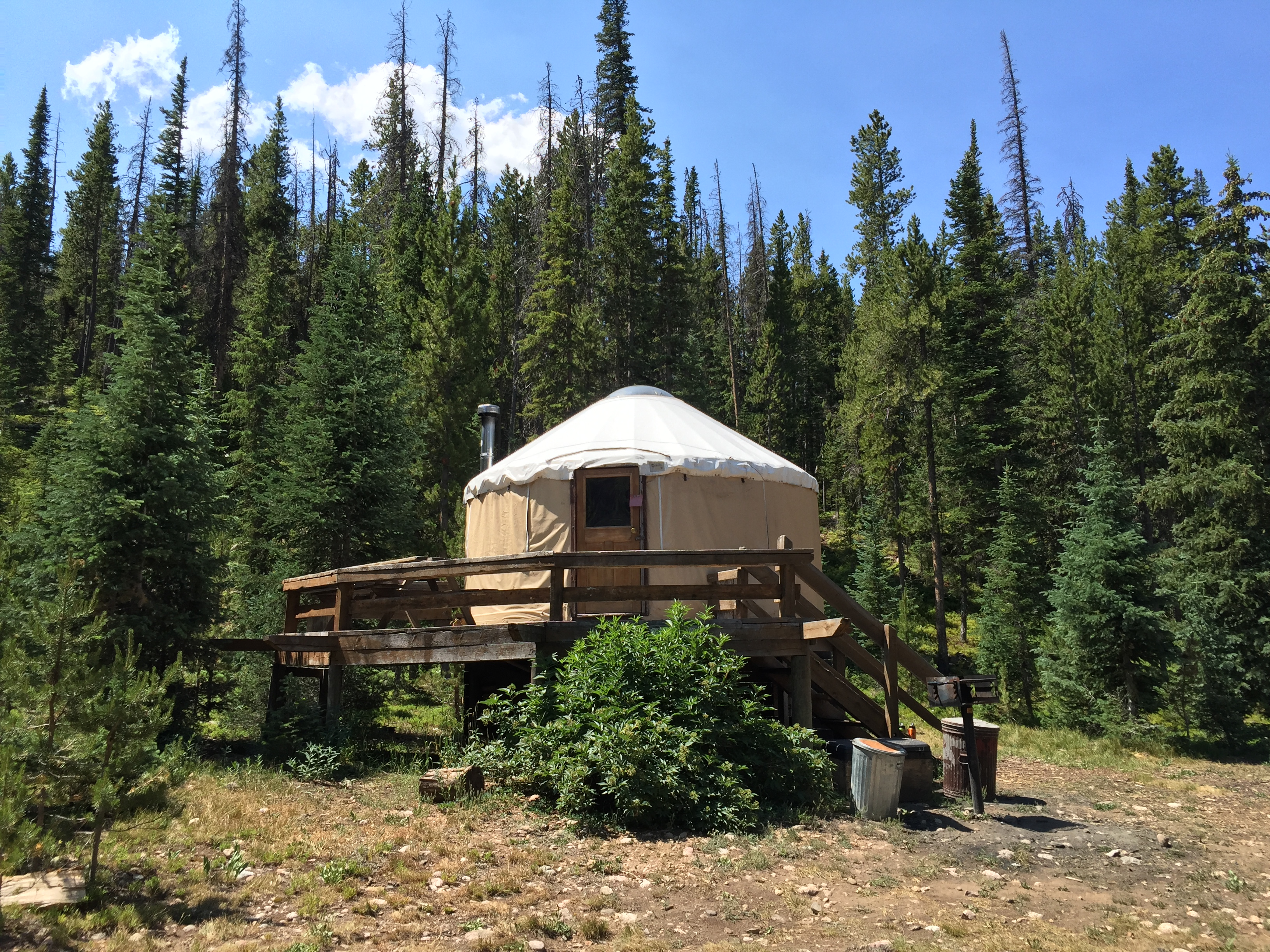 Ruby Jewel Yurt