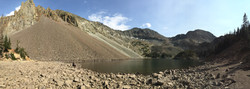Lake Agnes during Fall