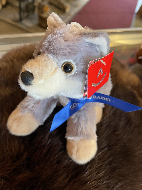 Wolfy in Gould, CO plush toy