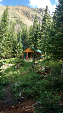 Agnes Creek Cabin