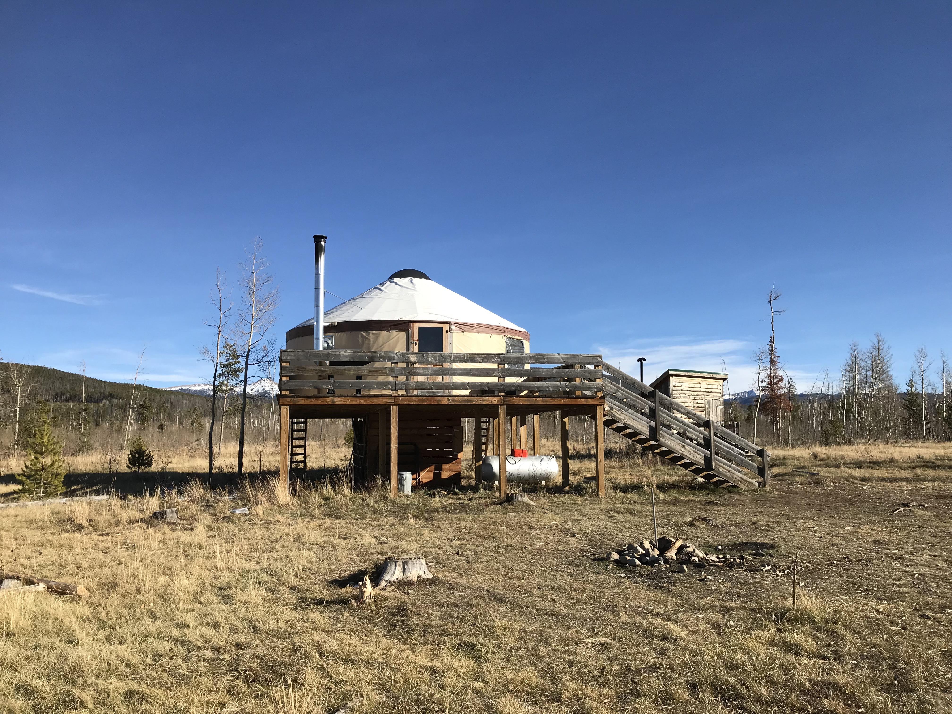 Black Bear Yurt