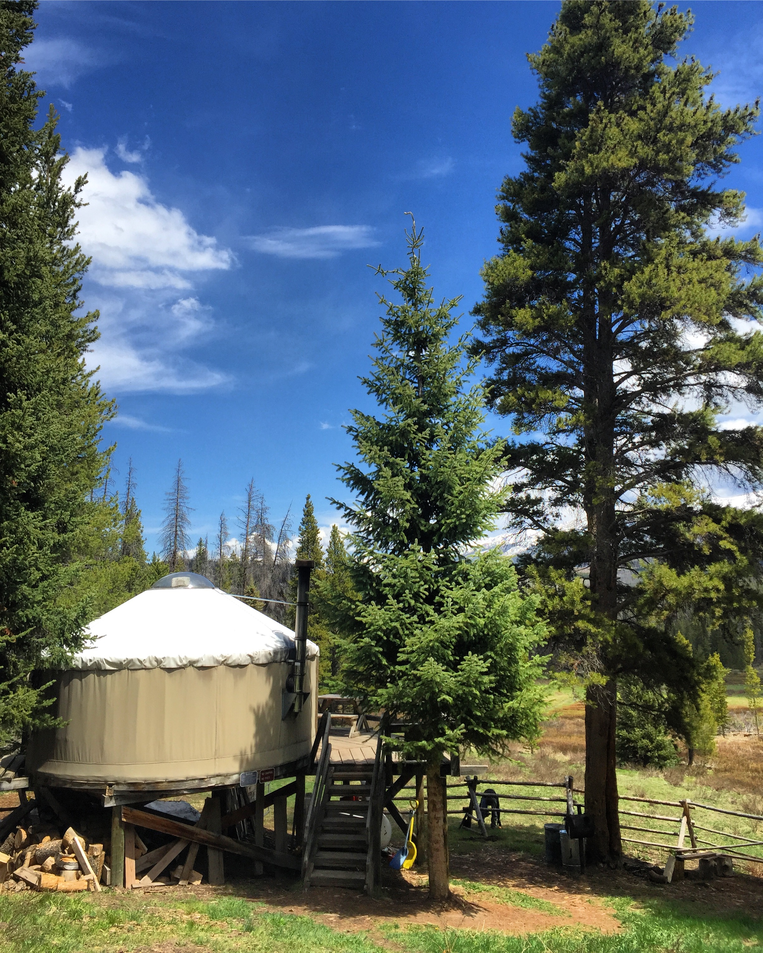 Grass Creek Yurt