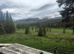 View from the Grass Creek Yurt