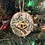 Thumbnail: Hand painted Tree Ornaments -Locally made
