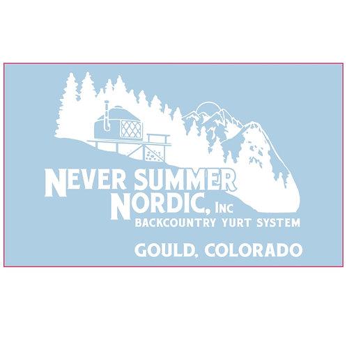 Never Summer Nordic Sticker