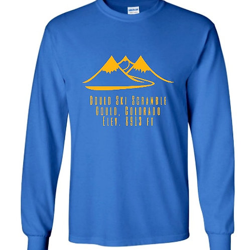 Gould 2019 Scramble L/S Shirt Blue&Gold