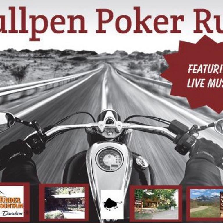 Bullpen Poker Run