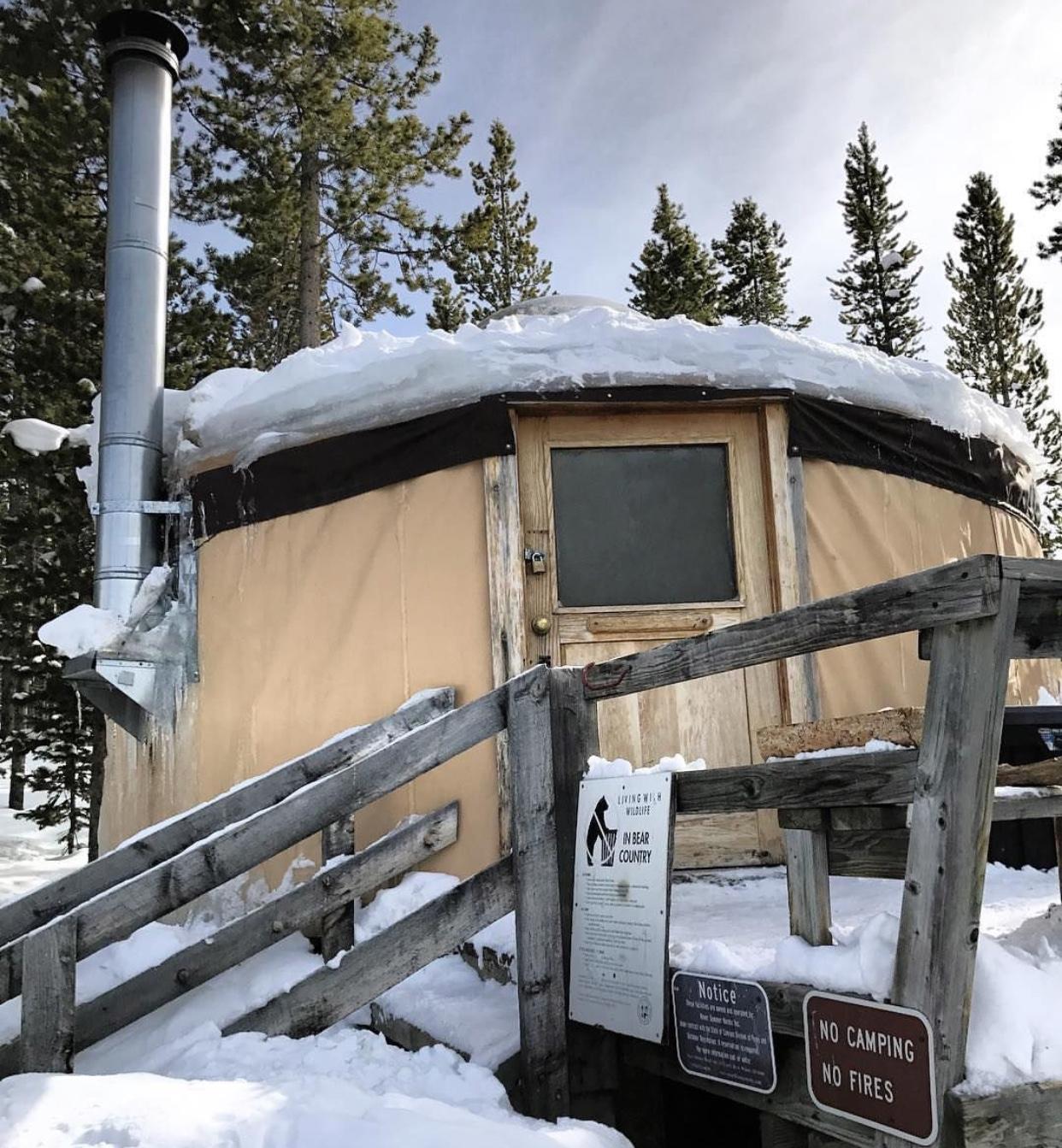 Upper Montgomery Pass Yurt