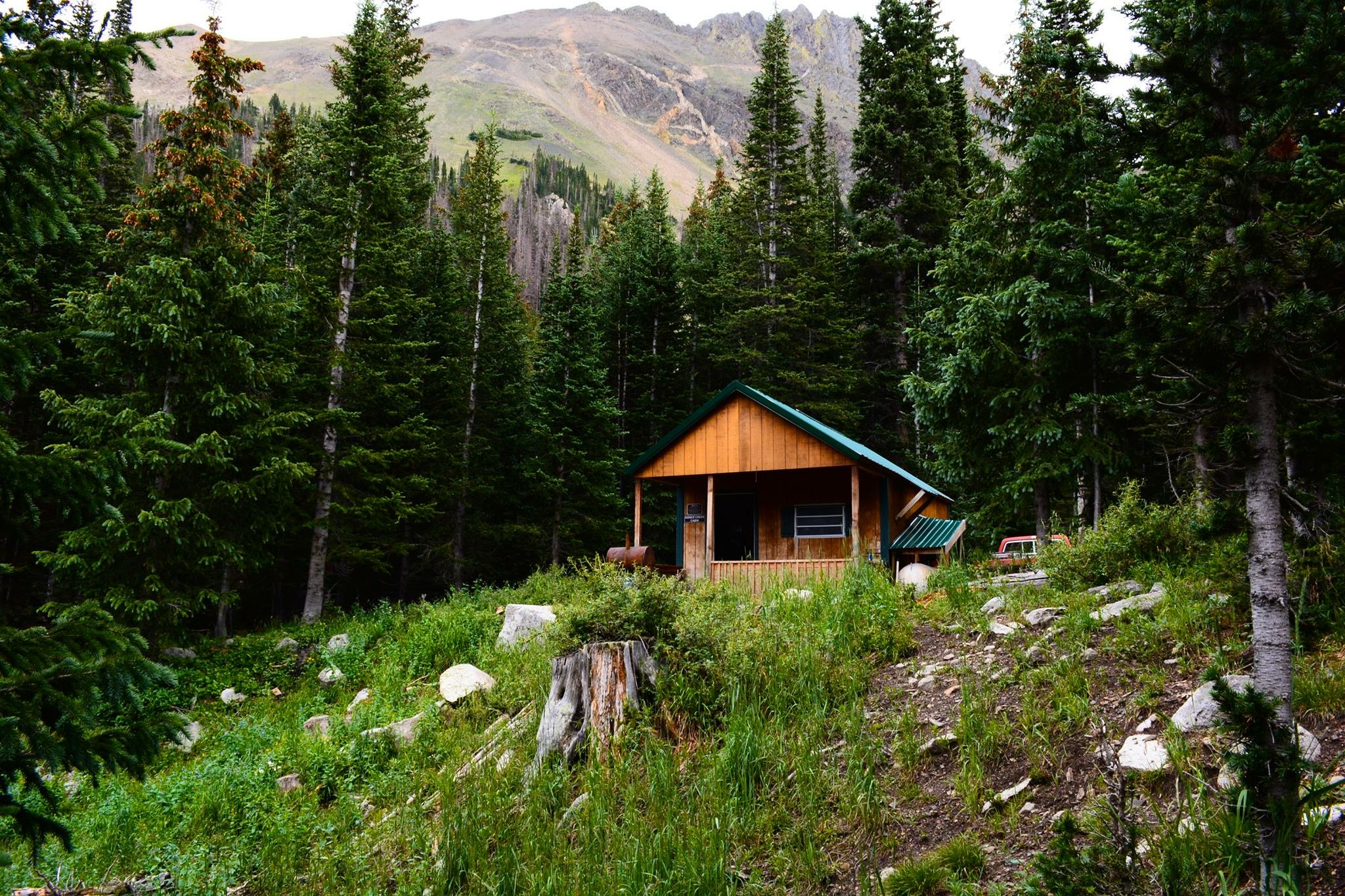 Agnes Creek Cabin