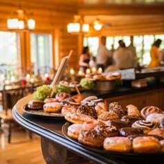 Desserts on the bar