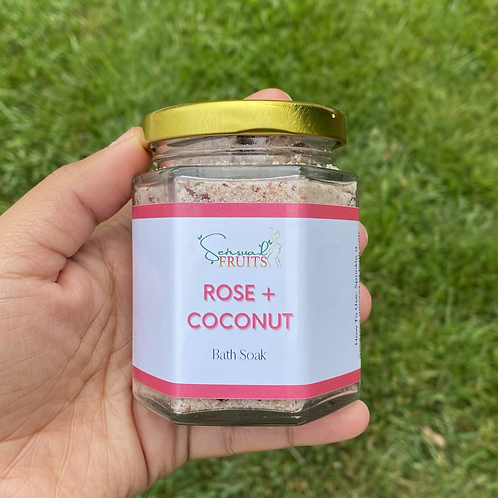 Rose + Coconut Bath Soak