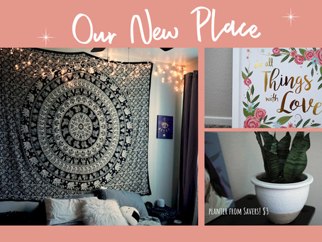 Move with us! Setting up our new apartment + home tour