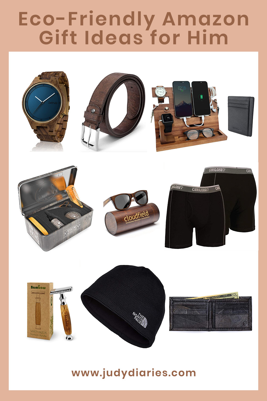 eco friendly sustainable amazon gift ideas for him men