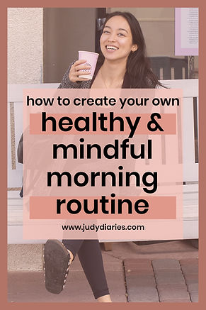 healthy mindful morning routine for succ