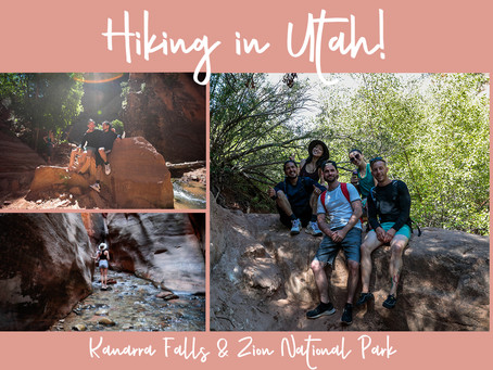 Adventures in Utah! Hiking Kanarra Falls & Zion National Park