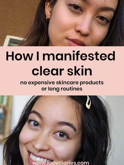 How to manifest clear skin