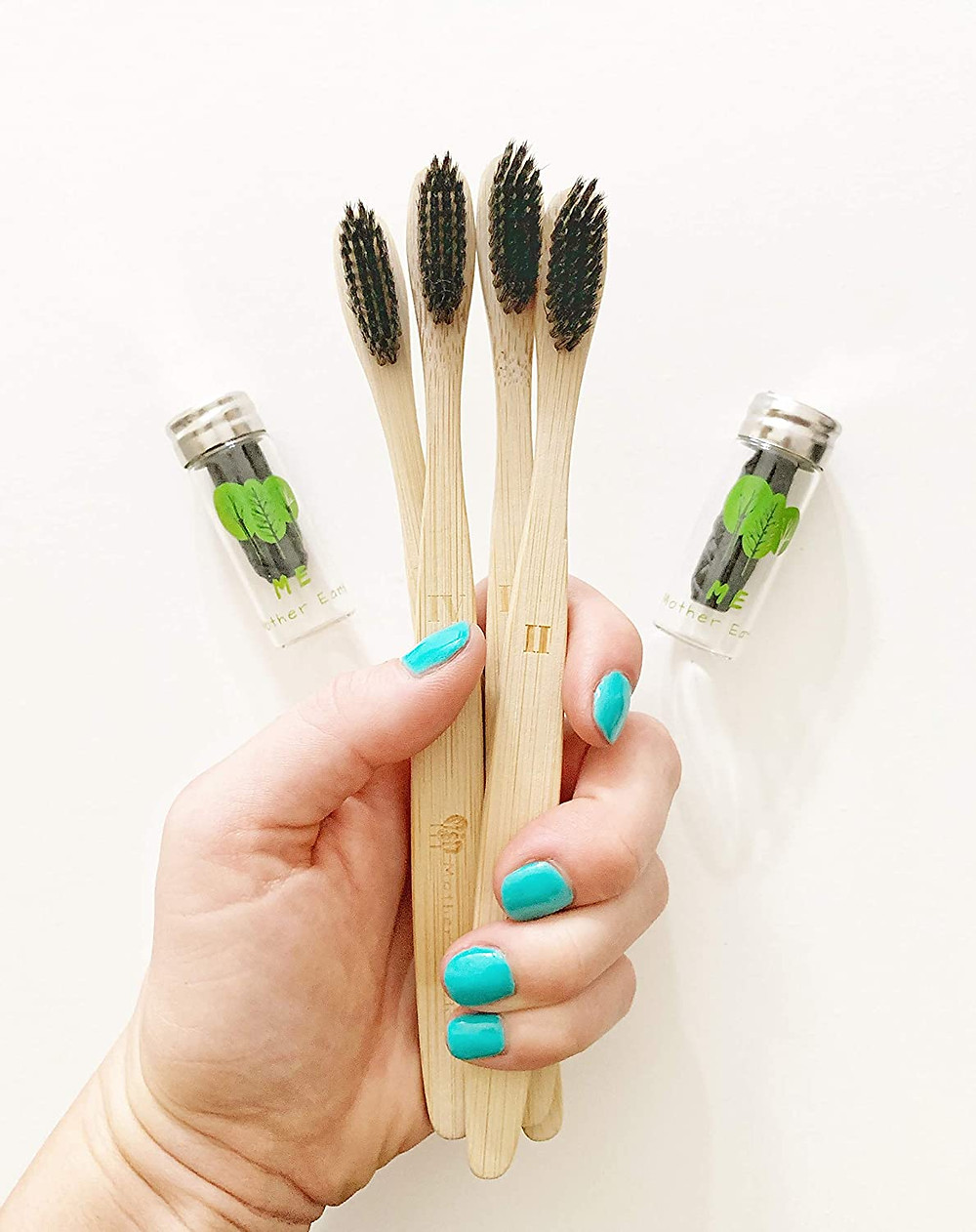 eco friendly sustainable toothbrushes made from bamboo