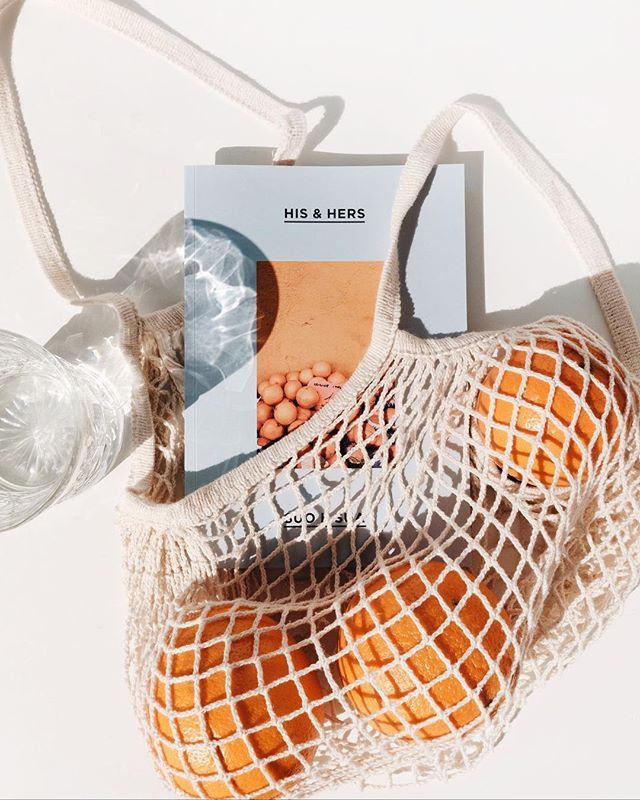 zero waste products, reusable cotton mesh tote produce bags