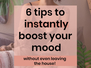 6 tips to instantly boost your mood without even leaving the house