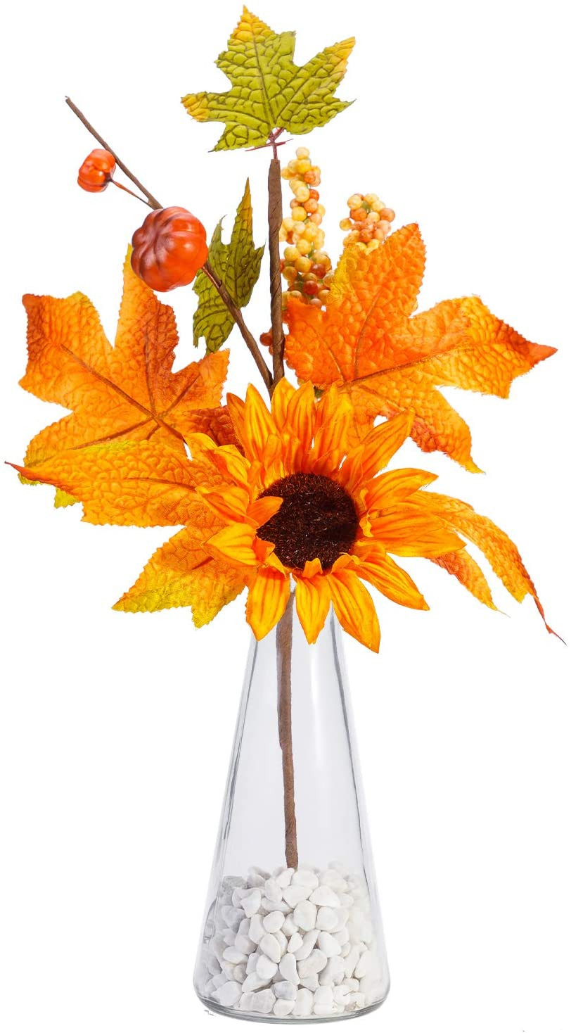 fall amazon decor budget friendly artificial flowers