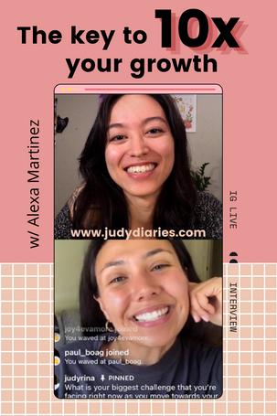 The Key to 10x Your Growth w/ Alexa Martinez