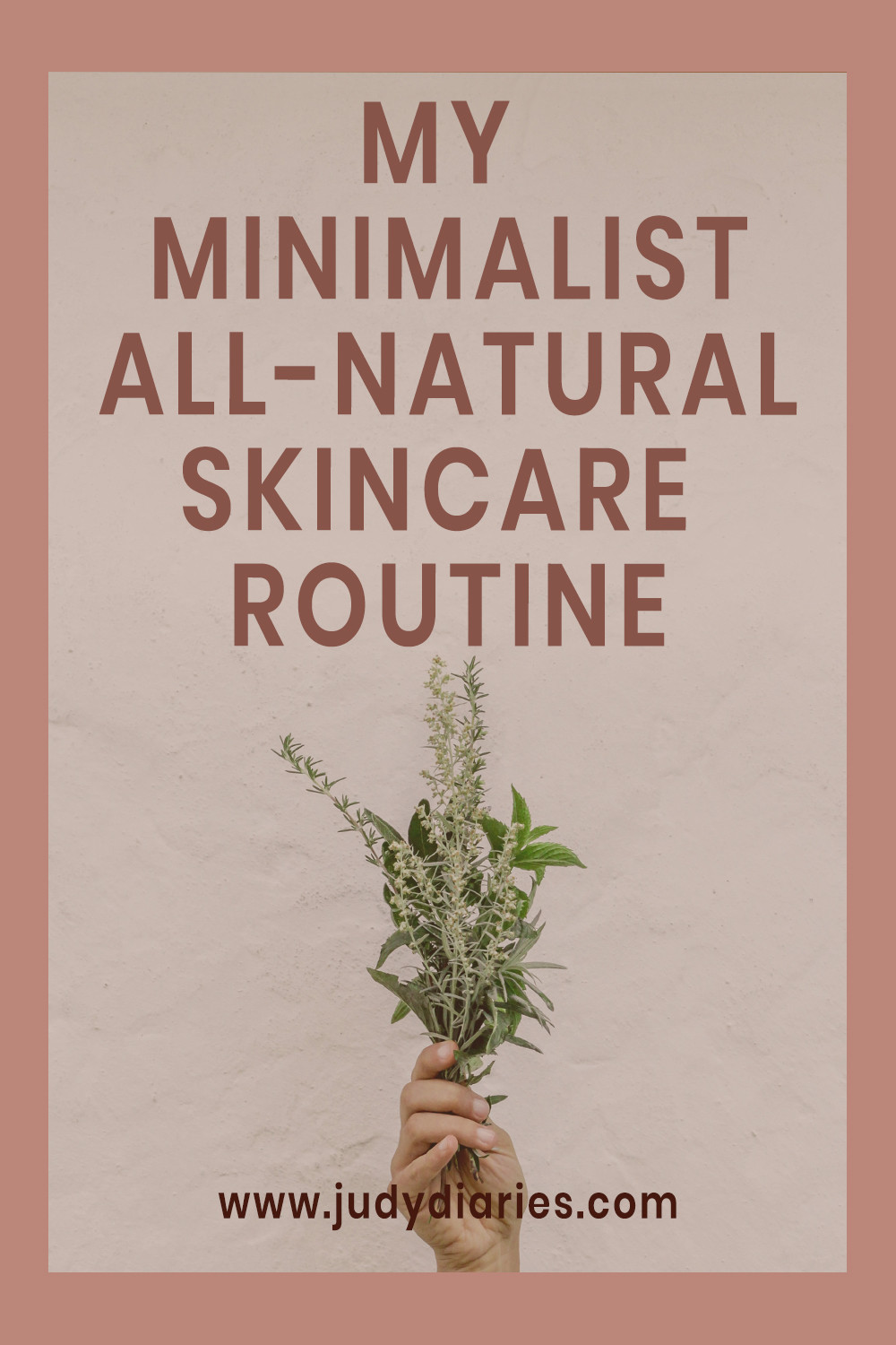minimalist all natural skin care routine for acne and oily skin judy diaries