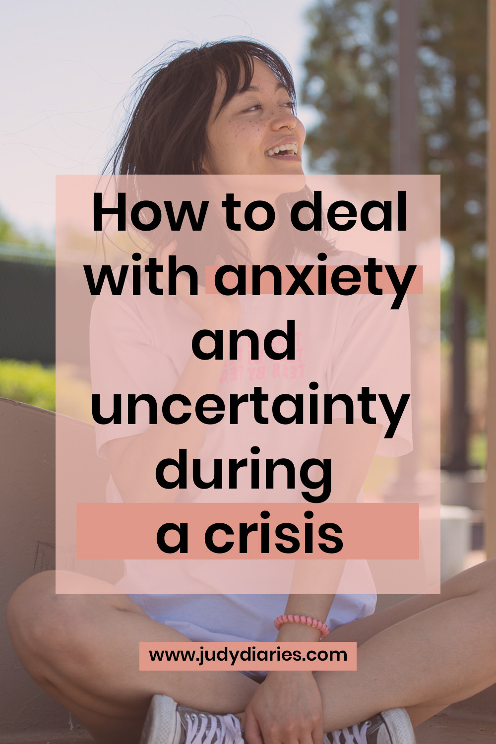 How to deal with anxiety and uncertainty during a crisis