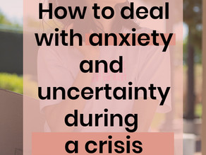 Embrace Uncertainty | 5 tips for dealing with the stress & anxiety of uncertainty