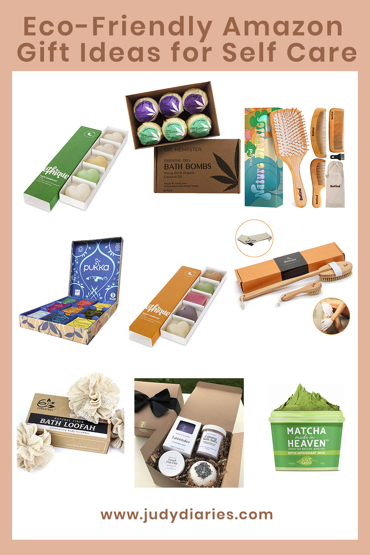 eco friendly amazon gift ideas for women self care spa