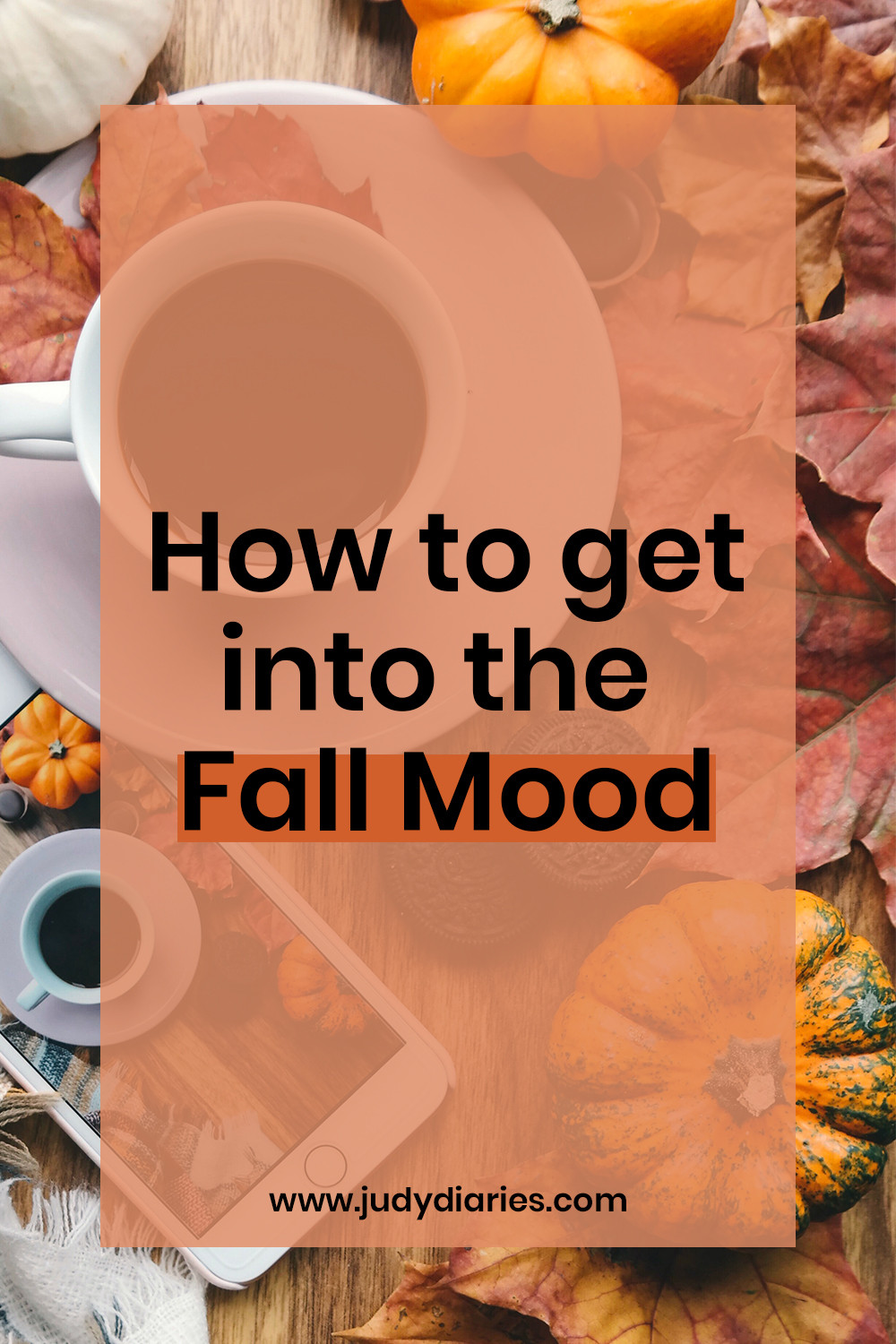 How to get into the fall mood fall vibes autumn