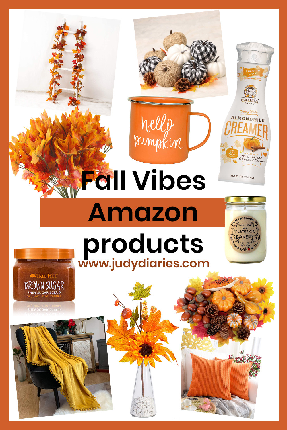 Fall Vibes Amazon Products Decor Pinterest Decorations