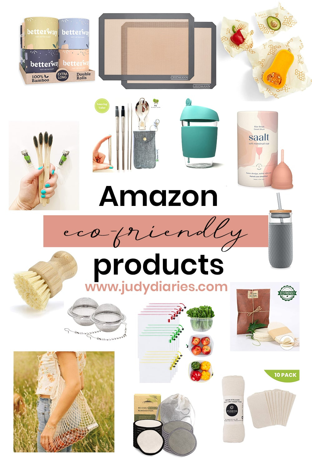 Eco-friendly and zero waste products from Amazon