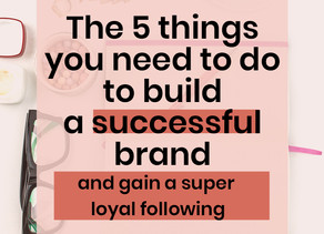 5 ways to build a successful brand & gain a loyal following - with Popfit Clothing