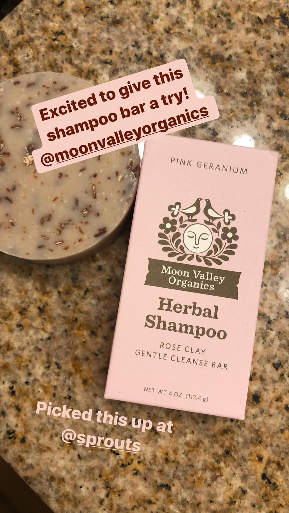 eco friendly and natural organic shampoo bar